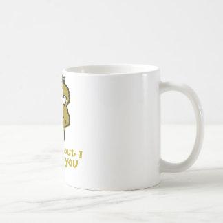Nutty Monkey How About I Spank You Basic White Mug