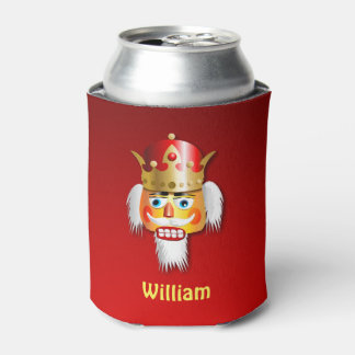 Nutty Nutcracker King Can Cooler