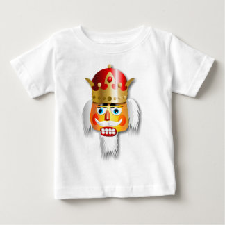 Nutty Nutcracker King Cartoon Baby T-Shirt