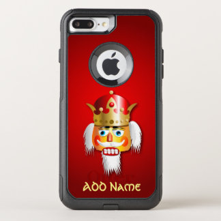 Nutty Nutcracker King With Customized Name OtterBox Commuter iPhone 8 Plus/7 Plus Case