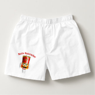Nutty Nutcracker Toy Soldier Boxers
