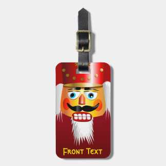 Nutty Nutcracker Toy Soldier Luggage Tag