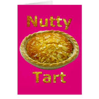Nutty Tart Greeting Card