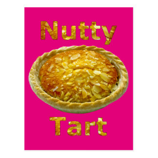 Nutty Tart Postcard