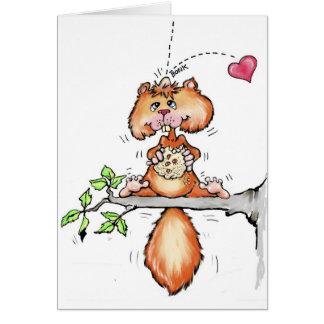 Nutty Valentine Greeting Card