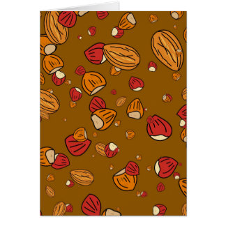 Nutty Wallpaper Greeting Card