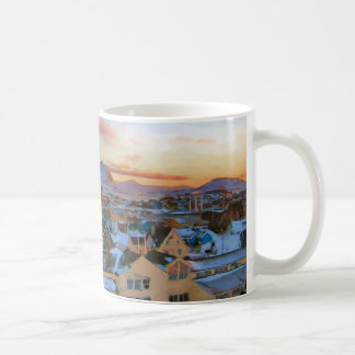 Nuuk City Greenland by Ozborne Whilliansson Coffee Mug