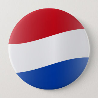 Nuvola Dutch, Netherlands 10 Cm Round Badge