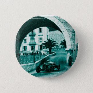 Nuvolari RK the 1932 Monaco Monaco Prix 6 Cm Round Badge