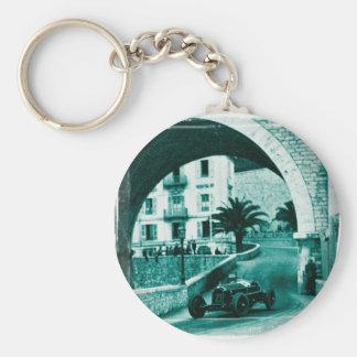 Nuvolari RK the 1932 Monaco Monaco Prix Key Ring