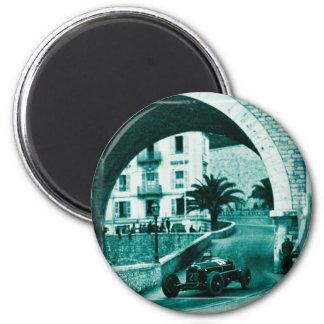 Nuvolari RK the 1932 Monaco Monaco Prix Magnet