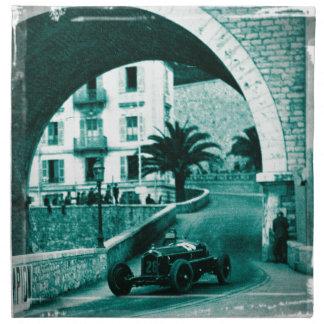Nuvolari RK the 1932 Monaco Monaco Prix Napkin