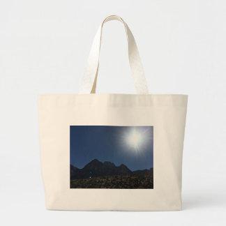 Nv mountain range large tote bag