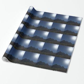 Nv mountain range wrapping paper