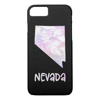 NV Nevada State Iridescent Opalescent Pearl iPhone 8/7 Case