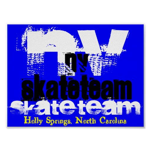 NV Skate Team Poster