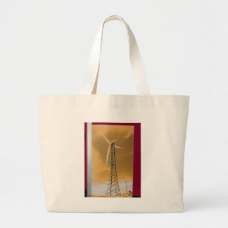 NVN16 NavinJOSHI Natural CLEAN Wind Energy GIFTS Tote Bag