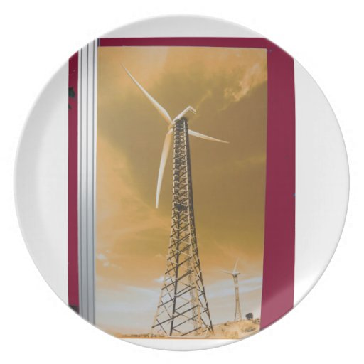 NVN16 NavinJOSHI Natural CLEAN Wind Energy GIFTS Plates