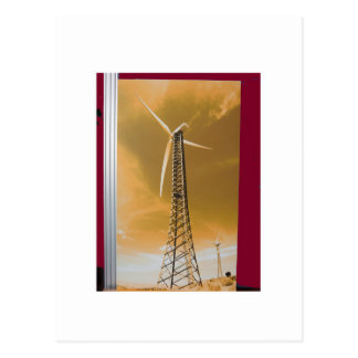 NVN16 NavinJOSHI Natural CLEAN Wind Energy GIFTS Postcard