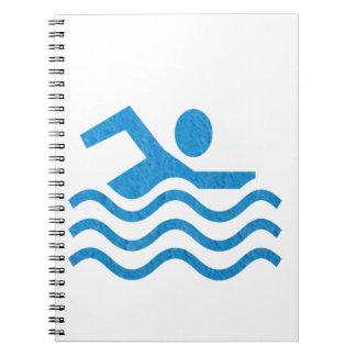 NVN24 navinJOSHI Swimming Sucess Swim Swimmer 101 Notebook