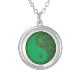 NVN27 navinJOSHI Green Balance YIN YANG Chinese Necklace