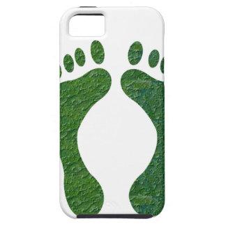 NVN36 navinJOSHI Green FOOTprint EarthDay Warming iPhone 5 Cases