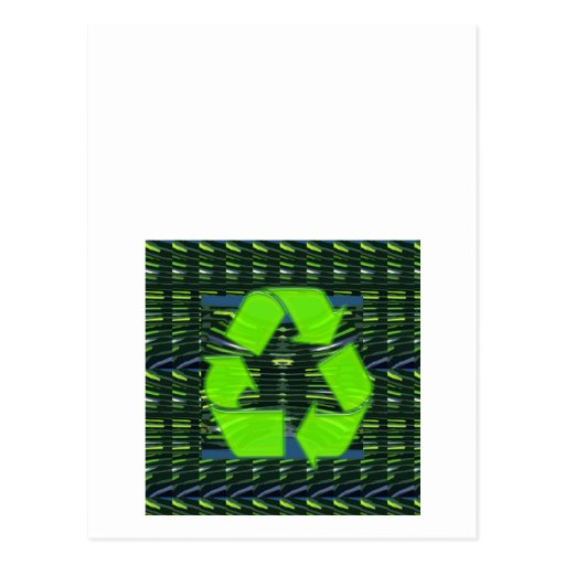 NVN427 RECYCLE Green Earthday Globalwarming FUN Post Cards