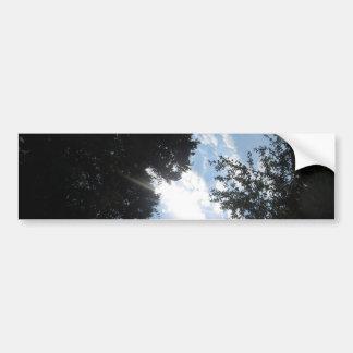 NVN721 American Spring SKYLINE GRAND n Note Cards Bumper Sticker