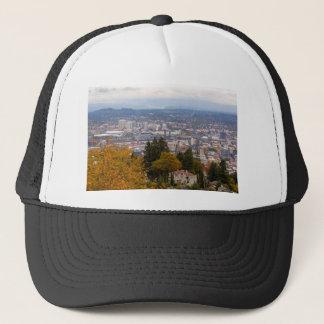 NW and NE Portland Cityscape during Fall Season Trucker Hat
