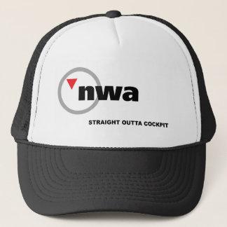 nwa trucker hat
