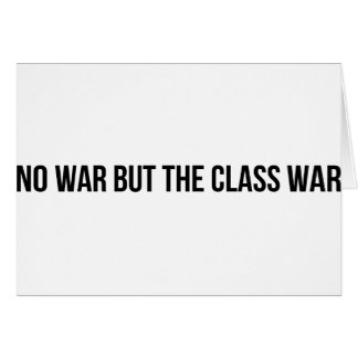 NWBTCW - Communist Socialist Revolution Politics Card