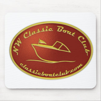 NWCBC Red & Gold Logo Mousepad