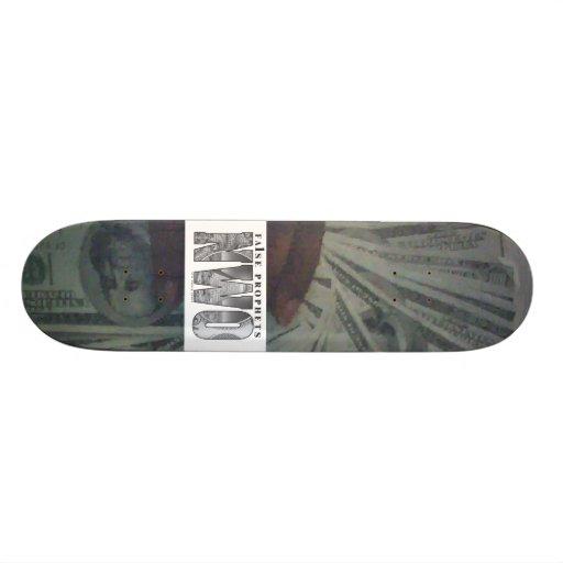 NWO skateboard deck