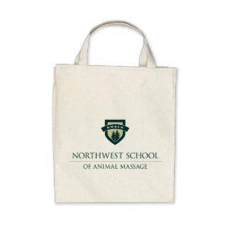NWSAM Organic Grocery Tote Bags