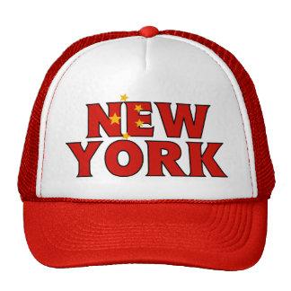 NY - China Trucker Cap