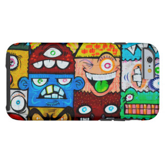 NY Graffiti Street Art - Cute Silly Monsters Tough iPhone 6 Case