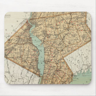 NY, Kings, Queens, Richmond, Rockland Mouse Pad