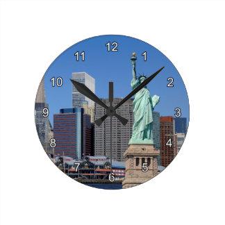 NY LIBERTY 2 CLOCK
