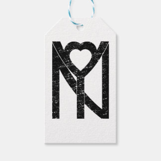 NY New York love Gift Tags