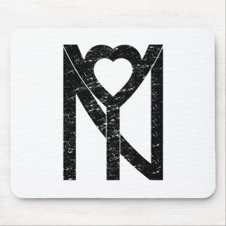NY New York love Mouse Pad