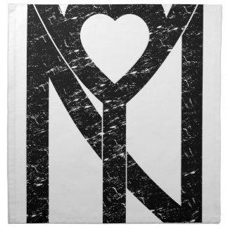 NY New York love Napkin