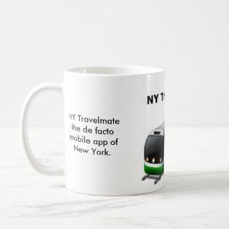 NY Travelmate 11 oz Classic White Mug