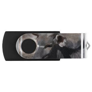 Nyala Swivel USB 2.0 Flash Drive