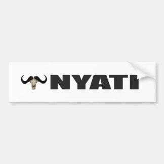 Nyati Bumper Sticker