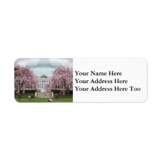 NYBG Weeping Cherry Return Address Label
