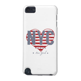 NYC American Flag Heart iPod Touch 5G Case
