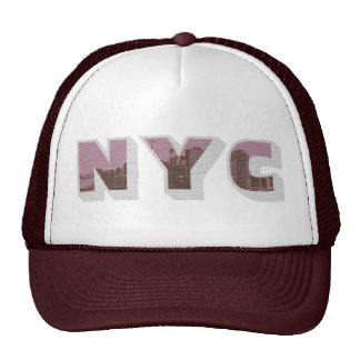 NYC Big Apple vintage photo graphic style Cap