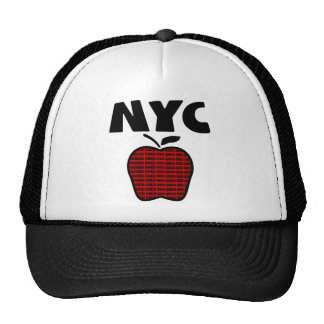 NYC - Big Apple With All 5 Boroughs Hats