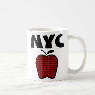 NYC - Big Apple With All 5 Boroughs Mug