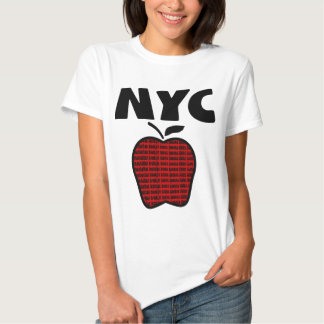 NYC - Big Apple With All 5 Boroughs Tshirts